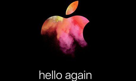 Apple gui thu moi su kien ra mat san pham moi ngay 27/10 - Anh 1