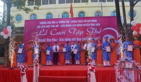 9 cap doi tham gia dam cuoi tap the - Niem hanh phuc nhan muoi - Anh 2