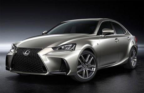 Lexus IS ban nang cap gia tu 45.000 USD tai Nhat - Anh 1