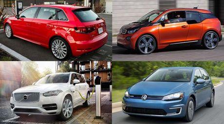 10 xe dien va hybrid xuat xu chau Au tot nhat the gioi - Anh 1