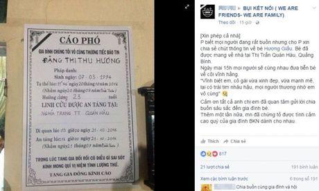 Nu sinh tu nan khi di tu thien: 'Dong chia se nhu diem bao truoc tren facebook ca nhan' - Anh 1