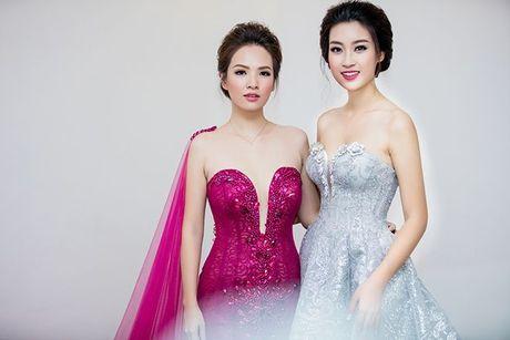 Hoan chuyen tu thien mien Trung, Hoa hau Do My Linh tat bat tham du su kien - Anh 6