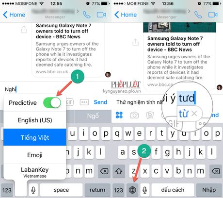 Khac phuc 3 loi ban phim thuong gap tren iPhone - Anh 1