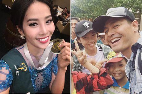 Phan Anh chia se ly do ngung nhan tien ung ho mien Trung; Nam Em gianh tiep huy chuong bac Miss Earth - Anh 1