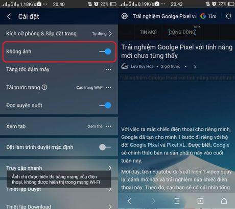 7 cach tang toc duyet web va luot Facebook khi het goi cuoc 3G toc do cao - Anh 3