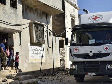Ngung ban 11 tieng o TP Aleppo bi vay ham - Anh 1