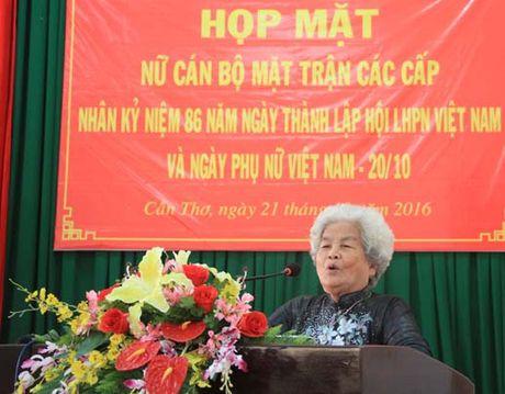 Can Tho: Hop mat nu can bo Mat tran cac cap - Anh 2