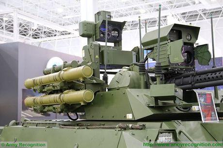 Dan vu khi cuc manh tren robot Uran-9 cua Nga - Anh 8