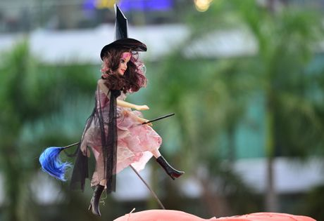 Vuon bi ngo dam chat Halloween o Sai Gon - Anh 13