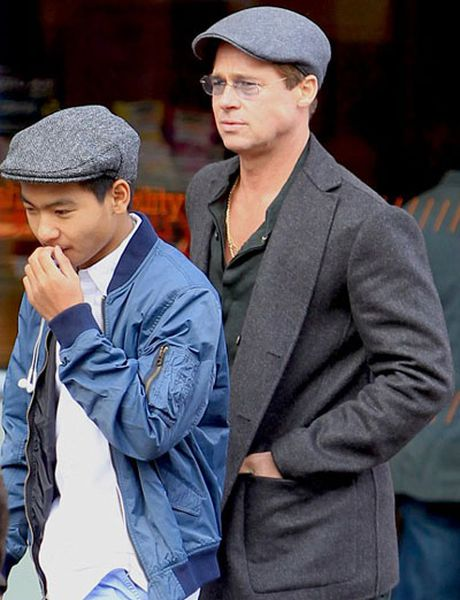 Brad Pitt lan dau gap Maddox sau cao buoc bao hanh - Anh 1