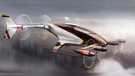 Airbus tham vong phat trien taxi bay khong nguoi lai - Anh 1