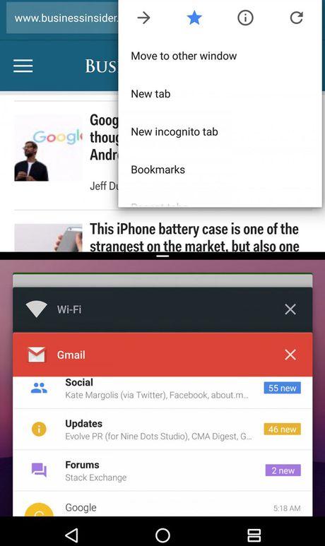 10 tinh nang hay it nguoi biet tren Android 7.0 Nougat - Anh 1