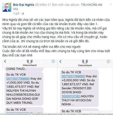 MC Dai Nghia gap rac roi voi hon 800 trieu tien tu thien - Anh 3