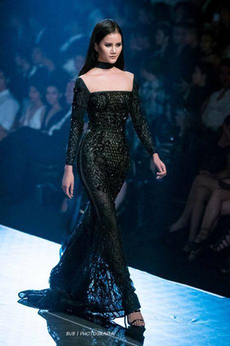 Dan mau Top Model do bo show dien cua NTK Chung Thanh Phong - Anh 2