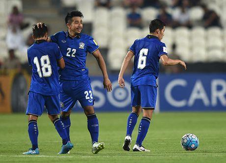 DT Thai Lan du AFF Cup 2016 voi doi hinh manh nhat - Anh 1