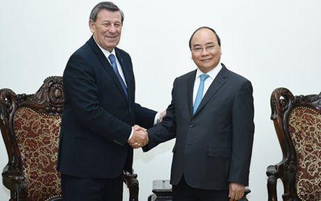 Thu tuong Nguyen Xuan Phuc tiep Bo truong Ngoai giao Uruguay - Anh 1