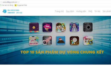 Xac dinh 10 san pham vao chung ket thi lap trinh Bluebird Award 2016 - Anh 1