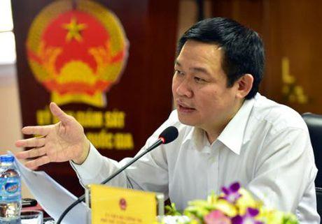 Ong Vuong Dinh Hue: Thi diem cho pha san NHTM yeu kem - Anh 1