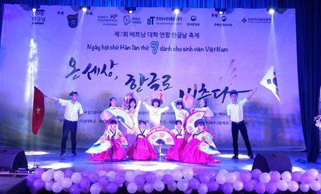 Ngay hoi chu Han lan thu 7 danh cho sinh vien Viet Nam - Anh 1