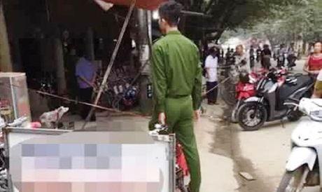 Yen Bai: Bat duoc nghi pham sat hai 2 nguoi tren ban nhau - Anh 1