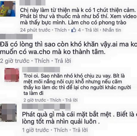 Thuy Tien buc xuc vi bi che mat 'kho chiu' khi lam tu thien - Anh 2