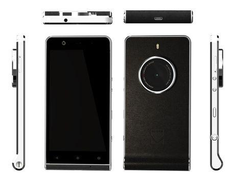 Smartphone Ektra - su hoi sinh huyen thoai may anh co dien cua Kodak - Anh 2