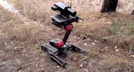 Minirex - Robot ban tia Nga co the bo vua trong tui xach - Anh 1