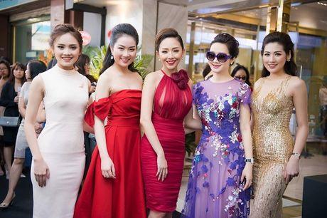 Hoa hau Giang My noi bat giua dan my nhan, khoe dang nuot na - Anh 10
