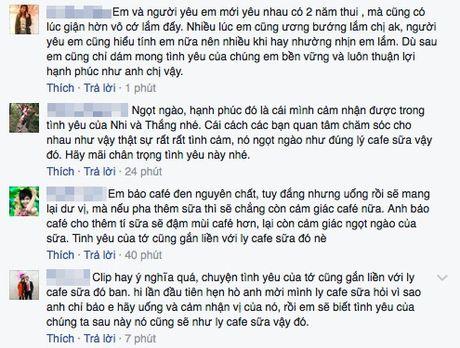 """Tinh yeu cafe sua "" – Ai cung can co mot lan trong doi - Anh 3"