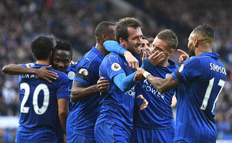 """Leicester City - C.Palace: 3 cu """"na dan"""" hoan hao - Anh 1"""