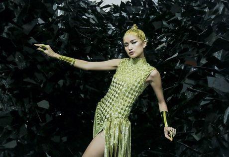 Ngoc Chau an mi goi, tat ta chuan bi cho 'Vietnam International Fashion Week' - Anh 9