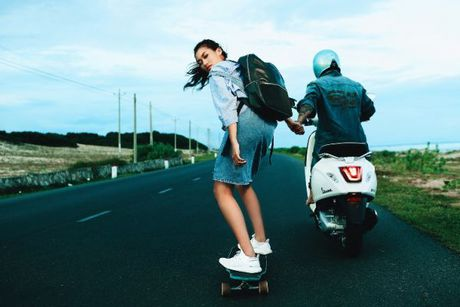 Da mat voi nhung bo anh Vespa Top Stylist contest - Anh 12