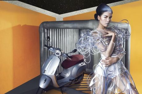 Da mat voi nhung bo anh Vespa Top Stylist contest - Anh 1