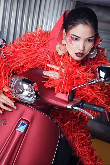 Da mat voi nhung bo anh Vespa Top Stylist contest - Anh 5