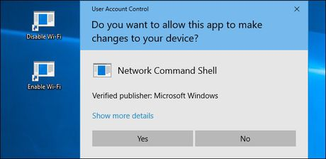 Tu tao phim nong bat/tat Wi-Fi tren Windows 10 - Anh 13