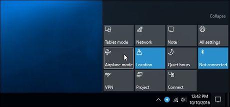 Tu tao phim nong bat/tat Wi-Fi tren Windows 10 - Anh 14