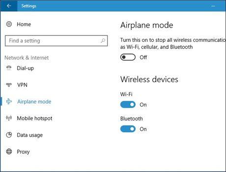 Tu tao phim nong bat/tat Wi-Fi tren Windows 10 - Anh 15