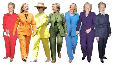 Cuoc cach mang thoi trang cua ba Clinton khi tranh cu Tong thong My - Anh 1