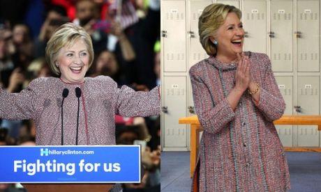 Cuoc cach mang thoi trang cua ba Clinton khi tranh cu Tong thong My - Anh 7