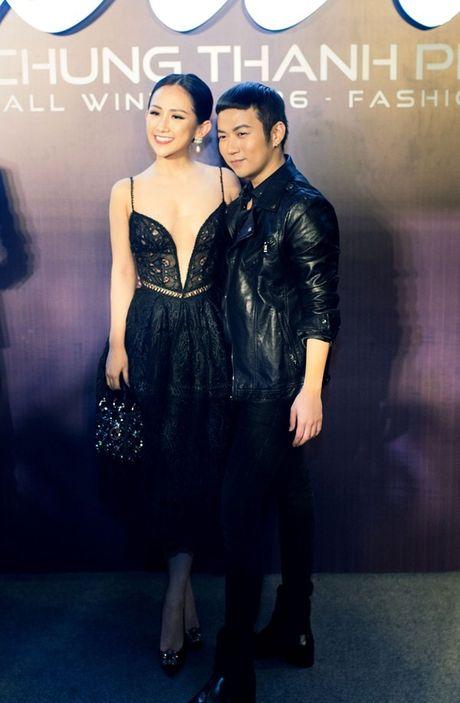 Fashionista Tram Nguyen do dang quyen ru ben canh hoa hau Do My Linh - Anh 10