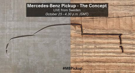 Mercedes-Benz Pickup xac nhan ngay ra mat - Anh 1
