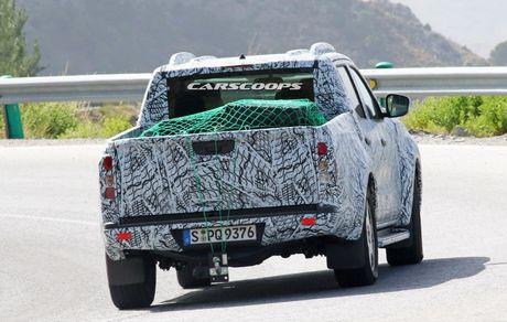 Mercedes-Benz Pickup xac nhan ngay ra mat - Anh 4