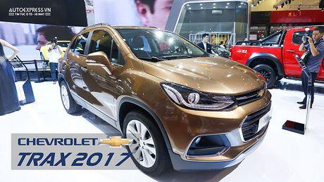 Chi tiet Chevrolet Trax 2017 - Doi thu Ford Ecosport vua ra mat Viet Nam - Anh 1