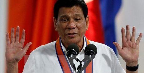 "Tong thong Philippines Duterte noi ""khong ly khai My"" - Anh 1"