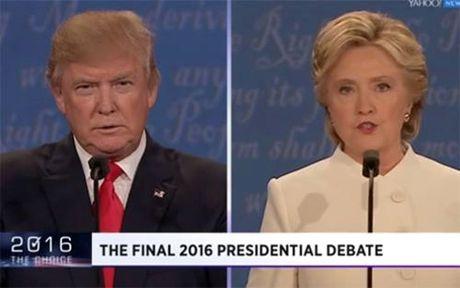 Hillary noi khong nen giao nut bam hat nhan cho Trump - Anh 1