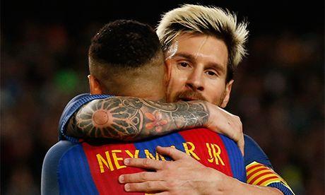 Neymar vao top 10 'ong hoang luong bong' nho ky moi voi Barca - Anh 1