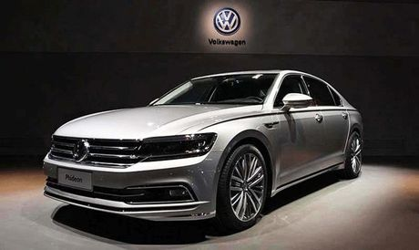 Volkswagen Phideon 2017 danh rieng cho thi truong Trung Quoc - Anh 2