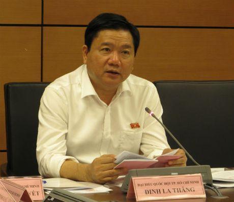Bi thu Dinh La Thang: TP HCM qua tai ca tren troi, duoi dat - Anh 1