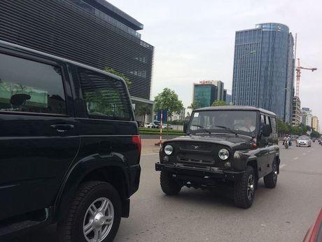 'Con chau' cua U-Oat, UAZ Hunter chinh thuc ve Viet Nam - Anh 1