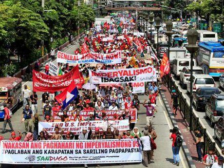 My kho xu voi tuyen bo 'chia tay' cua Duterte - Anh 1